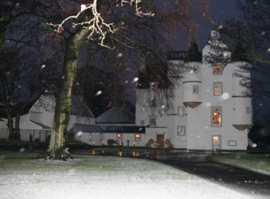 Castle Gogar in Winter