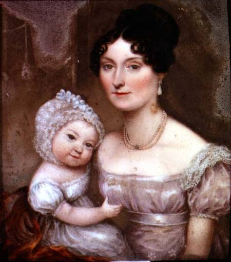 Lady_FitzHerbert_and_child