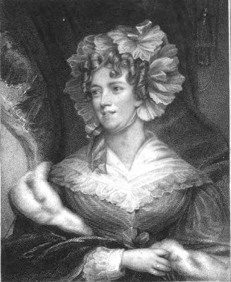 Alison Ramsay by Mrs James Robertson from a The portrait gallery of distinguished females by John Burke