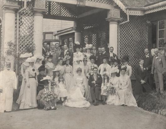 Elsie Maitland & George Kirby's Wedding 1899