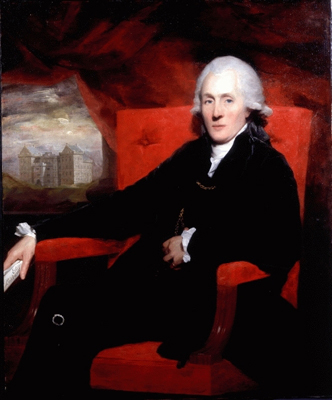 Portrait of Sir James Stirling (1740 - 1805) by Sir Henry Raeburn